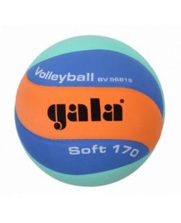 Gala Jeugd-/Minibal Soft 170g Oranje/Blauw/Groen