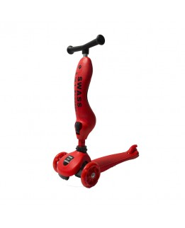 SWASS 2 in 1 Scooter - Rood