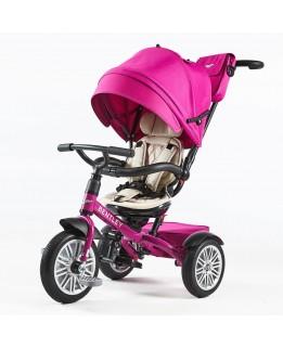 Bentley Tricycle 6 in 1 Driewieler en Buggy - Fuchsia Pink