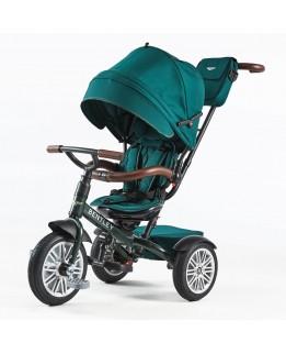 Bentley Tricycle 6 in 1 Driewieler en Buggy - Spruce Green